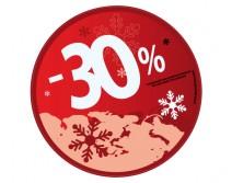 Sticker 30% HIVER 03