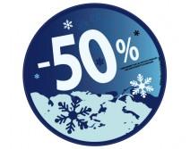Sticker 50% HIVER 16