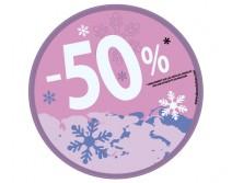 Sticker 50% HIVER 17
