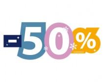 Sticker 50% HIVER 18