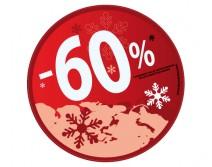 Sticker 60% HIVER 21