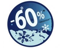 Sticker 60% HIVER 22