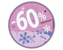 Sticker 60% HIVER 23