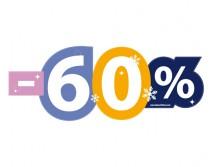 Sticker 60% HIVER 24