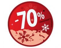 Sticker 70% HIVER 27