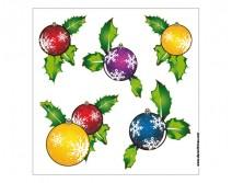 Sticker de Noel Boules de Noel 01