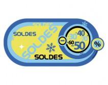 Sticker HIVER 32
