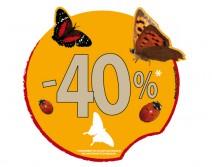 Sticker POURCENTAGE 22