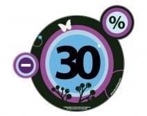 Sticker POURCENTAGE 36