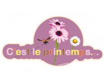 Sticker PRINTEMPS 26