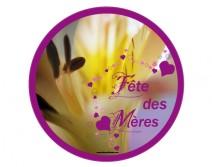 vitrophanie fête des mères fleur 06