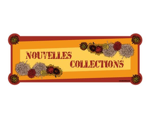 Sticker automne 04 decovitrines for Miroir 60x150