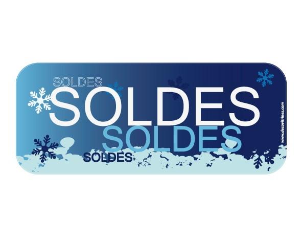 Sticker hiver 30 decovitrines for Miroir 60x150