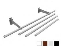 barres de penderie decovitrines. Black Bedroom Furniture Sets. Home Design Ideas
