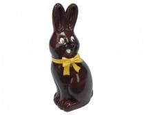 Lapin aspect chocolat noir