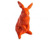 Lapin de Pâques orange