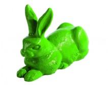 Lapin de Pâques vert