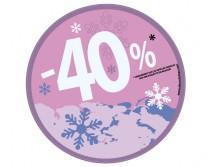 Sticker 40% HIVER 11