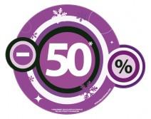 Sticker 50% HIVER 13