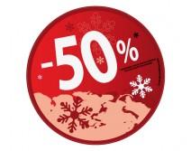 Sticker 50% HIVER 15