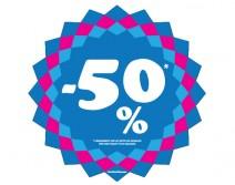 Sticker 50% HIVER 19