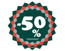 Sticker 50% HIVER 21