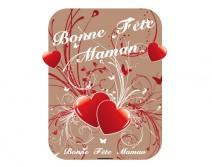 Sticker Bonne fête maman 07