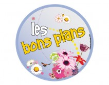 Sticker BONS PLANS 01 ETE