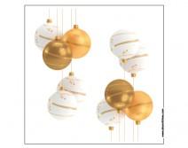 Sticker Boules de Noel