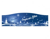 Sticker de Noel pour vitrine 04