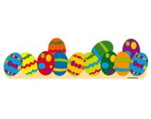 Sticker de Pâques pour la vitrine 07
