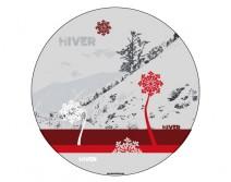 Sticker HIVER 14