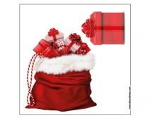 Sticker hotte de cadeaux