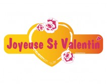 Sticker Joyeuse Saint Valentin 2