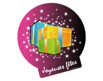 Sticker Joyeuses fêtes de Noel 06