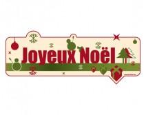 Sticker NOEL 30