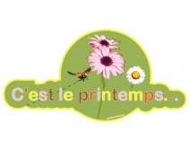 Sticker PRINTEMPS 20