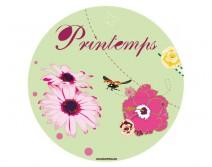 Sticker PRINTEMPS 24