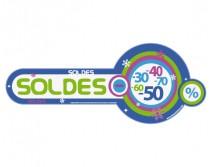Sticker Soldes d'hiver 02