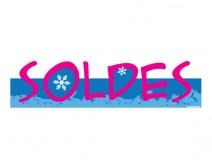 Sticker Soldes d'hiver 34