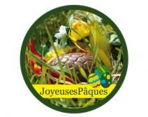 Sticker vitrine PAQUES 06