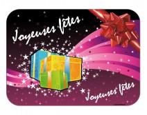 Sticker de Noel Joyeuses f�tes 03