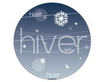 Sticker HIVER 11