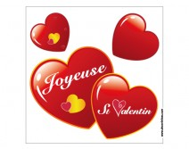 Sticker Joyeuse Saint Valentin