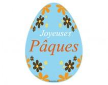 Sticker oeuf de Pâques 01