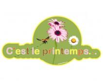 Sticker PRINTEMPS 20