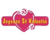 Sticker ST VALENTIN 08