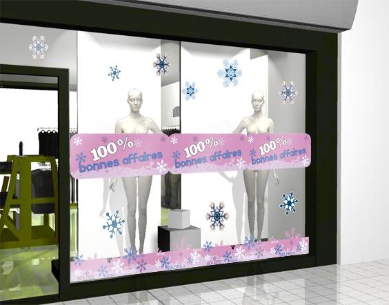 Sticker bons plans 04 hiver decovitrines for Miroir 60x150
