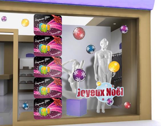 sticker joyeuses fetes sticker cadeau de noel et noeud. Black Bedroom Furniture Sets. Home Design Ideas